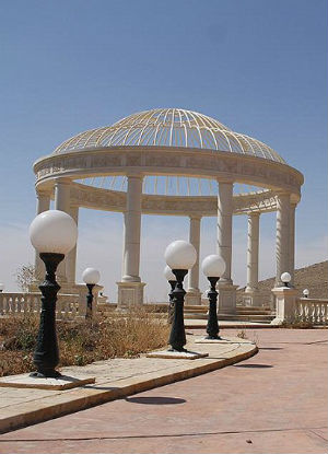 ENJOYING WESTERN DECADENCE: Islamic State says they have seized lavish mansion from Qatari family near Palmyra