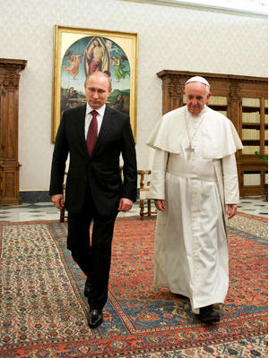 Pope Francis' meeting with Russian President Putin fraught with peril