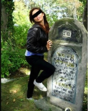 Insulting photoshoot at Jewish cemetery sparks outrage from community