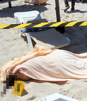 Terrorist slaughters 37 on Tunisian beach resort of Sousse