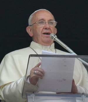 Pope Francis explains the nature of faith - the whole Gospel is written in its light