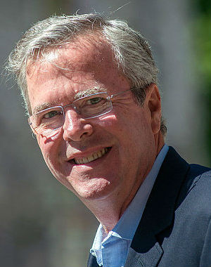 Announcing his candidacy for president, Jeb Bush seeks to distance himself from brother George W.