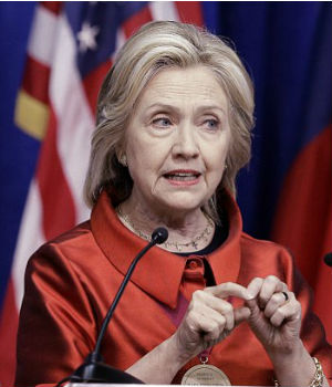 Low turnout in Texas greets Democratic candidate Hillary Clinton's voting rights speech
