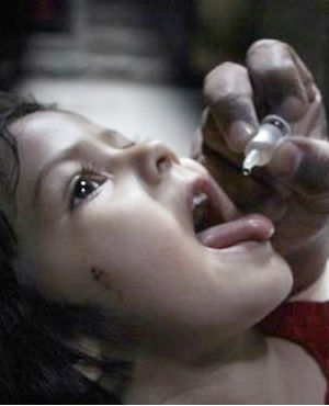Success against polio in Pakistan with 70 percent drop in cases