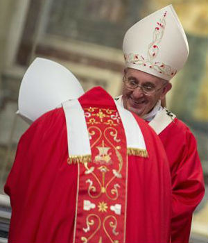 Pope Francis admonishes archbishops to be convinced by what themselves teach