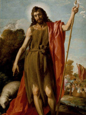 Wednesday, June 24 - Homily: John the Baptist Sanctified by Marian Mediation