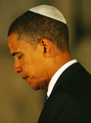 'I'm the closest thing to a Jew that has ever sat in this office' President Barack Obama makes odd claims as Iran nuclear deal reaches deadline