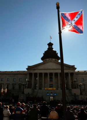 'A deeply offensive symbol of a brutally offensive past': Facebook petition calls for people to burn the Confederate flag