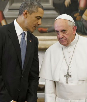 President Obama applauds Pope Francis' stance on climate change