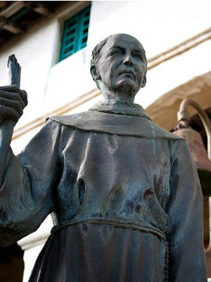 California legislature's who HATE Catholics want Father Juniper Serra statue OUT of Capitol