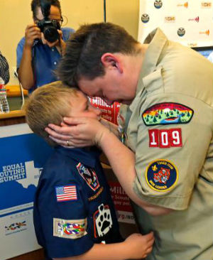 Will religious beliefs be acknowledged when Boy Scouts starts allowing gay leaders, volunteers?