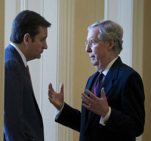 FLAT-OUT LIE: Ted Cruz says fellow Republican Mitch McConnell lied about Export-Import Bank