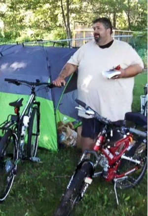 560-pound man sets out to bike across the U.S. to lose weight and save his marriage