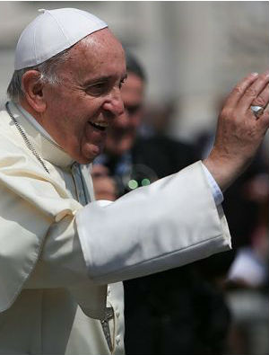 'Let Jesus satisfy your hunger for God': Pope Francis encourages people to make offers to God