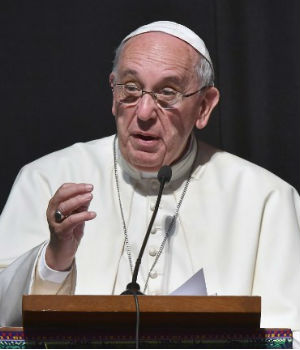 Pope Francis asks for forgiveness for sins committed against native peoples