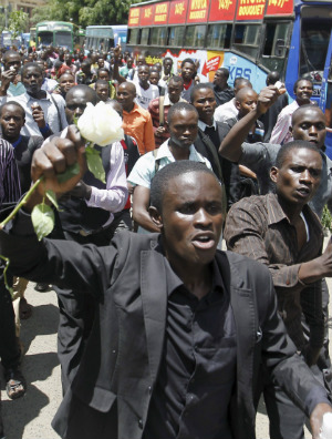Kenya plans massive nude march to reject Obama's support for homosexuality during visit