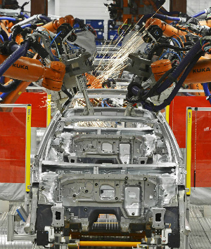 Volkwagen factory worker killed by robot arm