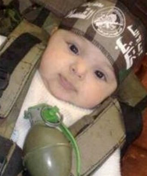 ISIS blows up orphaned baby in training demonstration