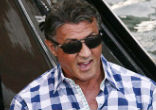 Image of The 68-year-old Sylvester Stallone shared all at the San Diego Comic-Con this past weekend.