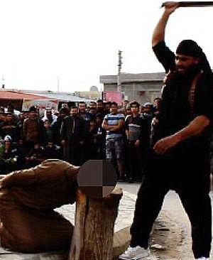 GRISLY FIRST: Islamic State beheads women for acts of 'sorcery' in Syria
