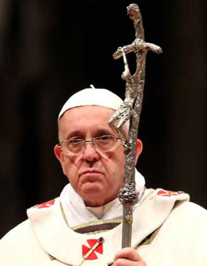 Pope Francis' favorability rating DROPPED in the U.S.
