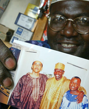 Obama's half-brother hurt over President's failure to inform relatives of upcoming trip in Kenya