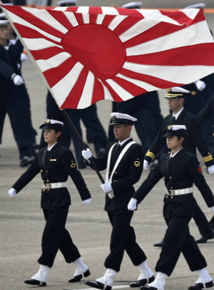 Military combats return to Japan after seven decades of strict restrictions