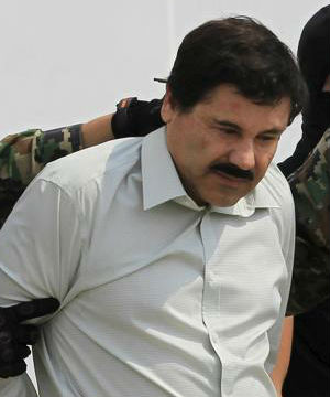 ON THE LOOSE: Mexico's most feared drug lord - They Can't Keep Me - 'El Chapo' escapes maximum-security prison