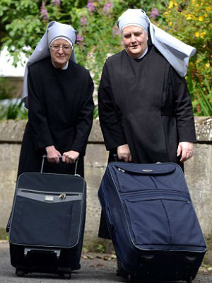 NO MORE SISTERS: Lack of new, younger nuns forces sisters to leave elder care home