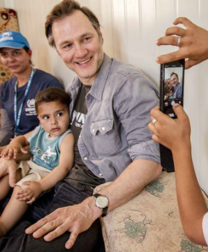 'We've got to open our eyes': Walking Dead's David Morrisey stands up for Middle East refugees living in fear