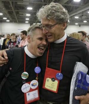 Episcopalians overwhelmingly vote to let same-sex weddings in churches