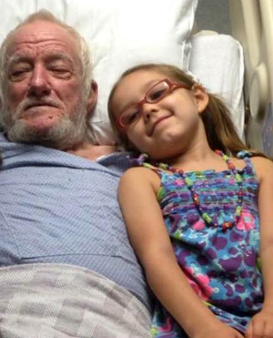 'God is ready!' Letter from young girl to her grandfather touches the entire family as the man passes away