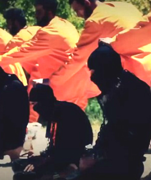 Twisted ISIS video shows militants executed by men in notorious orange jumpsuits