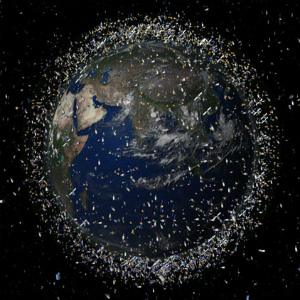 Mysterious fireball of space junk flies over the South