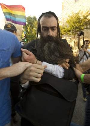 Ultra-Orthodox Jew goes on stabbing attack during annual gay pride march