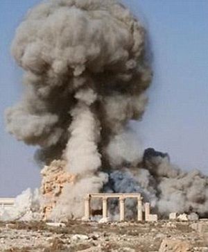 ISIS mercilessly blows up 2,000-year-old temple in Palmyra