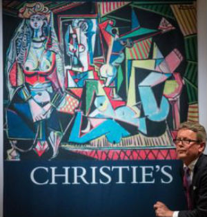 Art collectors seek liquidity as market plummets