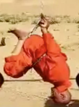 ISIS releases horrific execution video setting hanging prisoners on fire (WARNING: GRAPHIC CONTENT)