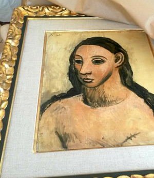 Rare Picasso painting, considered Spanish treasure, trapped in France after exportation attempt