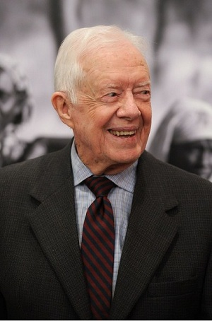 Former President Jimmy Carter stays close to God during difficult times