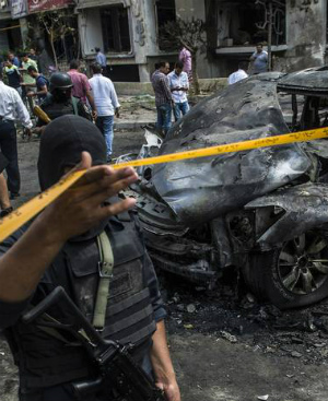 ISIS claims responsibility for massive car bomb attack in Cairo, Egypt
