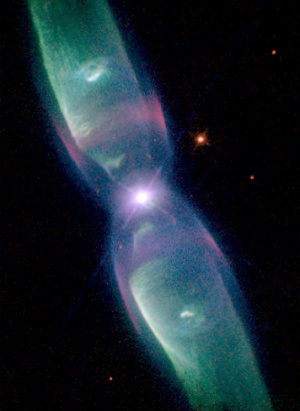 NASA captures space 'butterfly' with Hubble Space Telescope