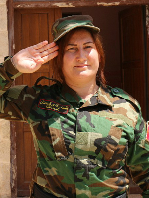All-female Yazidi battalion unites to seek revenge on ISIS
