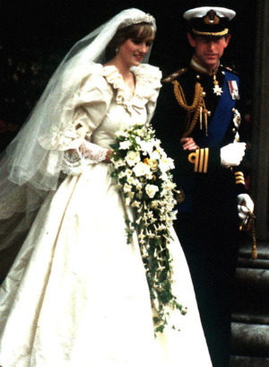 Never before seen wedding photos of Prince Charles and the late Princess Diana released
