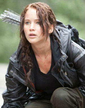 Twenty-five-year-old Jennifer Lawrence, who plays heroine Katniss Everdeen in the 'Hunger Games' sci-fi film series, is by far the best-paid actress currently working in film.