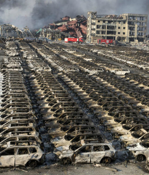 Shocking amounts of sodium cyanide stored in China's explosive city, Tianjin
