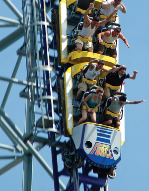 4 of the world's tallest and most intense roller coasters bring new excitement to amusement parks