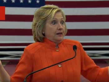 Criminal arrogance of Hillary Clinton shines through as she jokes about 'wiping' her email server
