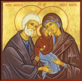 Pilgrimage with Pope Francis - THIRD STATION - St. Joachim, patron of fathers
