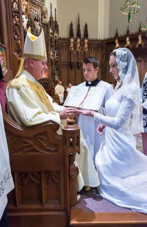 'I DO': High school teacher marries Jesus in wedding ceremony